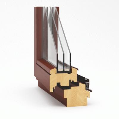 Okno drewniane ECOTHERM 92